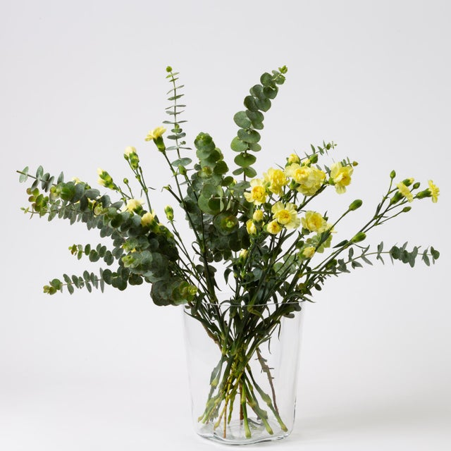 Transparent Tall Vase by Alvar Aalto for Iittala For Sale - Image 8 of 10