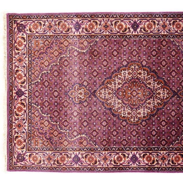 "Traditional Pasargad N Y Fine Tabriz Mahi Design Silk & Wool Rug - 3' X 4'10"" For Sale - Image 4 of 5"