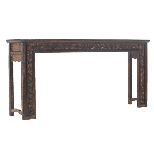 Vintage Sarreid LTD Chinese Altar Style Console Table - Image 1 of 3