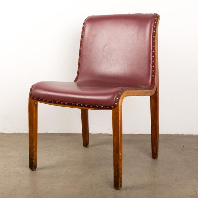 Bill Stephens for Knoll Bent Wood Dining Chair For Sale - Image 13 of 13