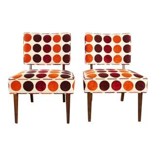 Contemporary Room & Board Side Chairs - a Pair For Sale