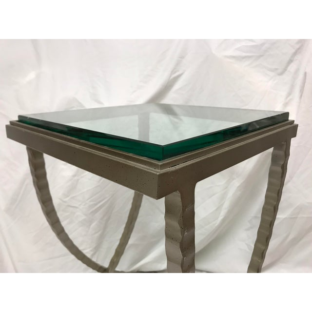 2010s Charleston Forge Talmadge Drink Table For Sale - Image 5 of 6