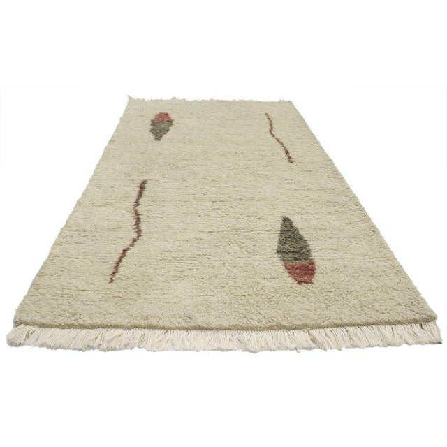 30339 Bauhaus Moroccan Style Rug with Alexander Calder Style and Abstract Art Design, 2′7 × 4′9. Modern in its simplicity,...