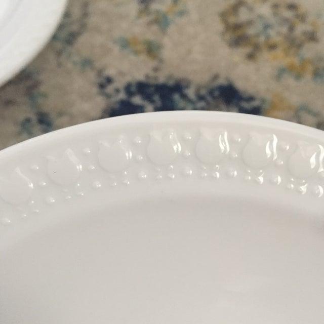 Vintage Corning Pyroceram Tableware White Dessert Plates - Set of 6 - Image 3 of 11