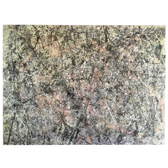 """Jackson Pollock Foundation Abstract Expressionist Collector's Lithograph Print """" Lavender Mist : No. 1 """" 1950 For Sale"""