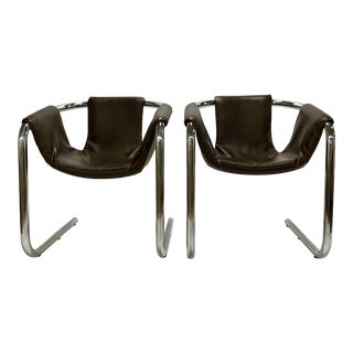 1970's Zermatt Sling Chairs for Vecta, Italy For Sale
