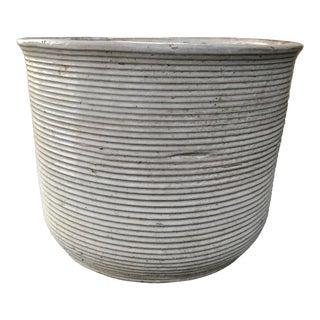 1960s Vintage Mid Century Modern Ceramic Planter For Sale