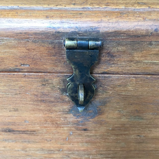 Antique French Trunk - Image 5 of 11