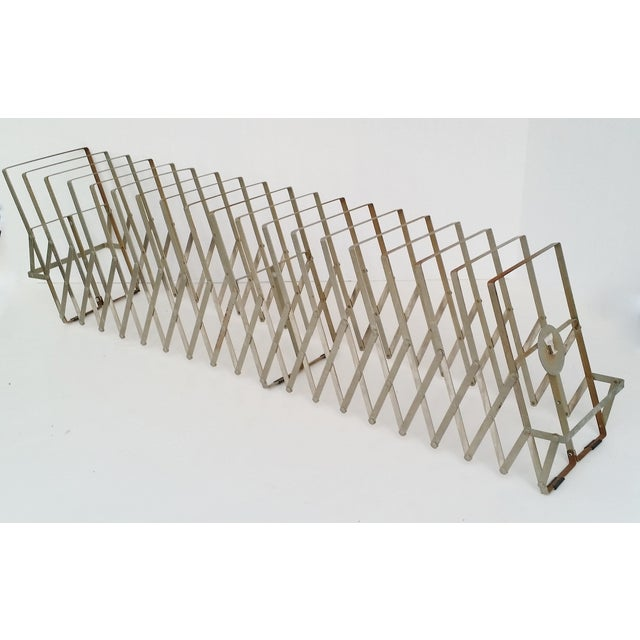 Vintage Metal Expandable Desktop File Holder - Image 2 of 6