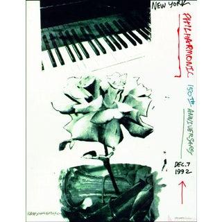 Robert Rauschenberg, New York Philharmonic 150th Anniversary, 1992 Poster For Sale