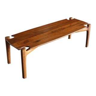 Bud Tullis Handcrafted Coffee Table, 1978 For Sale