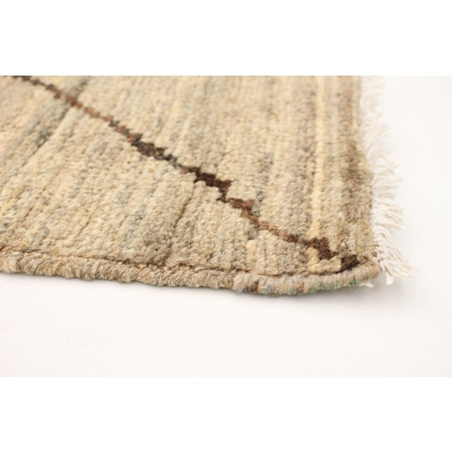 Moroccan Style Hand-Knotted Rug For Sale - Image 4 of 9