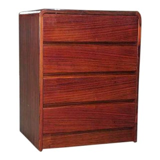 1970s Danish Modern Rosewood Small Dresser For Sale