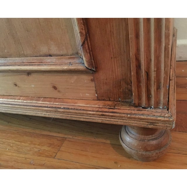 19th C Antique French Pine Cabinet For Sale - Image 11 of 13