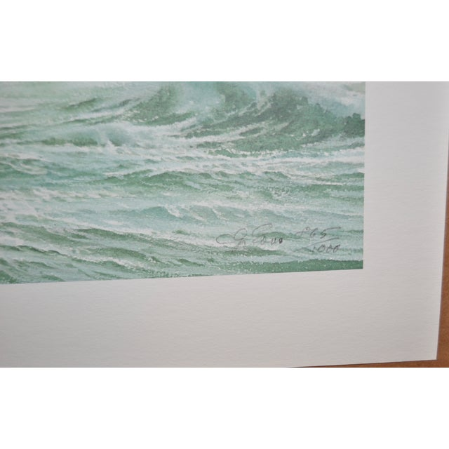 Carl G. Evers Vintage Tropical Storm Print For Sale - Image 5 of 5