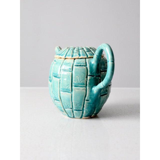 Vintage Studio Pottery Tea Pot For Sale - Image 6 of 11