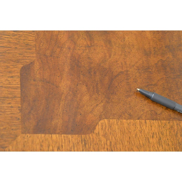 Henredon Rittenhouse Square Collection Mahogany Chippendale Ball & Claw Banded Dining Table For Sale - Image 10 of 13