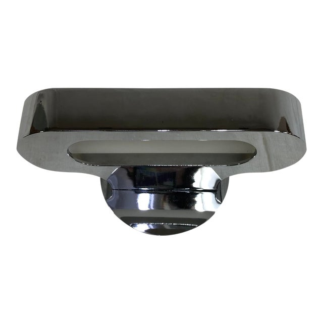 Artemide Talo 21 Mini Wall Sconce in Polished Chrome For Sale