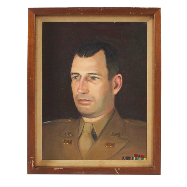 Portrait of a Military Man For Sale