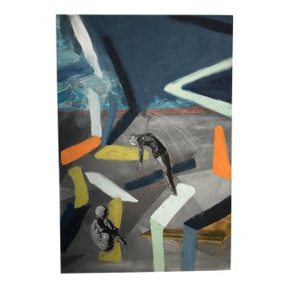 Original Divers Abstract Painting