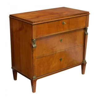 19th Century Empire Style Three Drawer Commode Preview