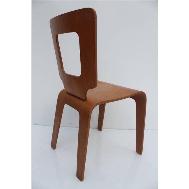 Mid-Century Modern Thaden Jordan Mid-Century Bentwood Birch Chair For Sale - Image 3 of 11