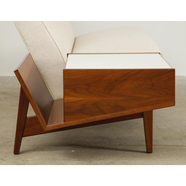 Jens Risom Sofa With Magazine Table For Sale In New York - Image 6 of 13