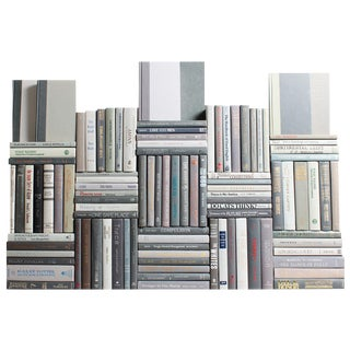 Modern Marble Book Wall, S/100 For Sale