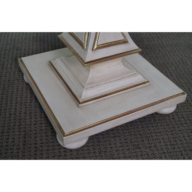 John Widdicomb French-Style Marble Coffee Table - Image 4 of 10