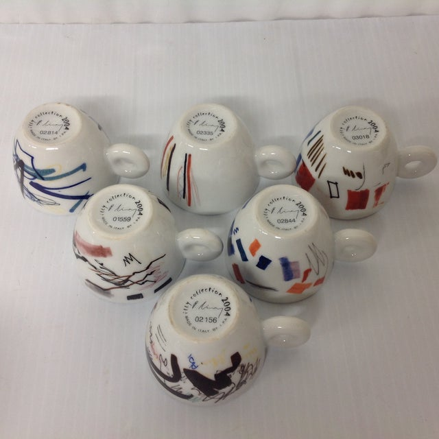 Padraig Timoney Illy Espresso Cups - Set of 6 - Image 6 of 6