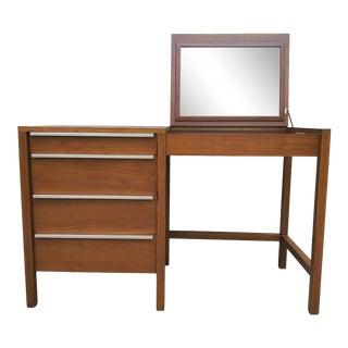 Mid Century Modern William Pahlmann Desk / Vanity Desk For Sale