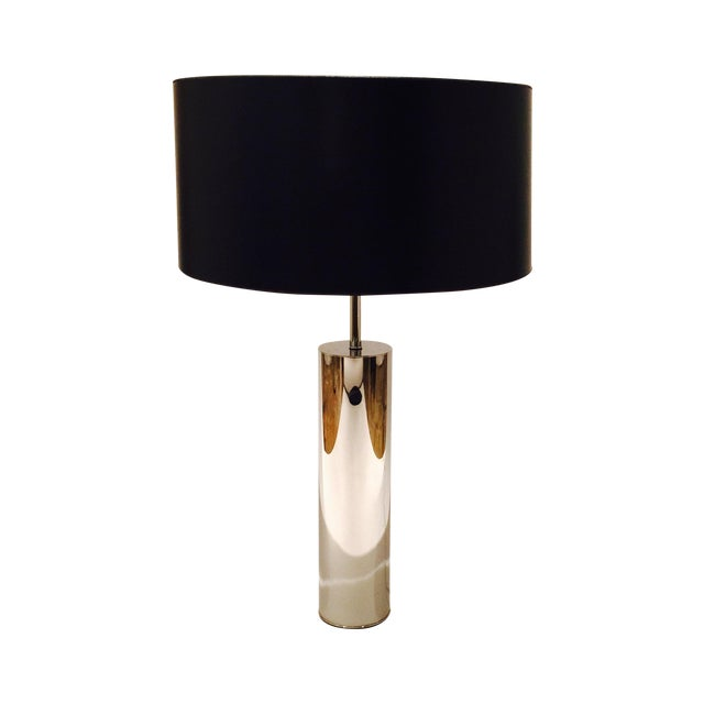Chrome Table Lamp by Nessen - Image 1 of 6