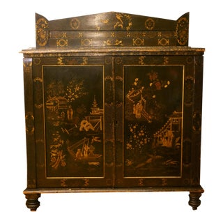 Dutch 18th Century Chinoiserie Coromandel Cabinet