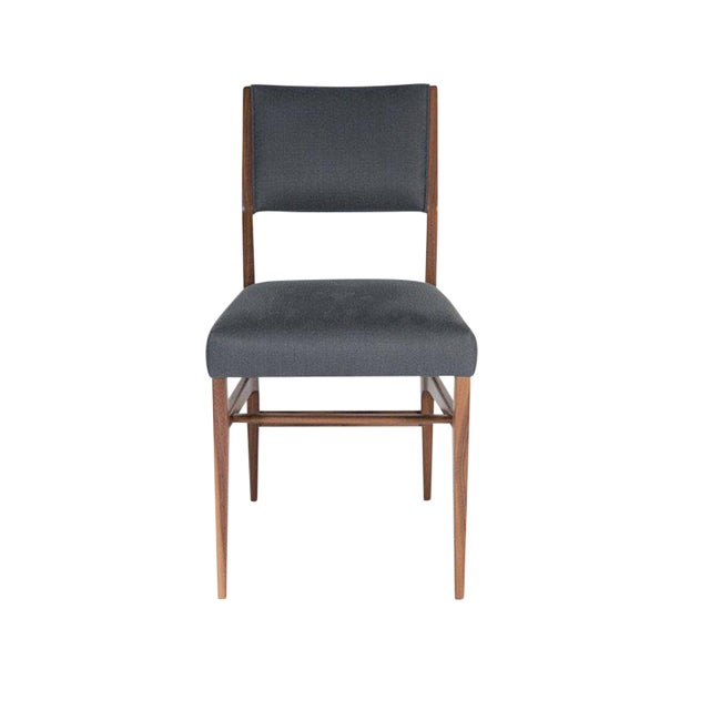 Customizable Maze Walnut Dining Chair For Sale