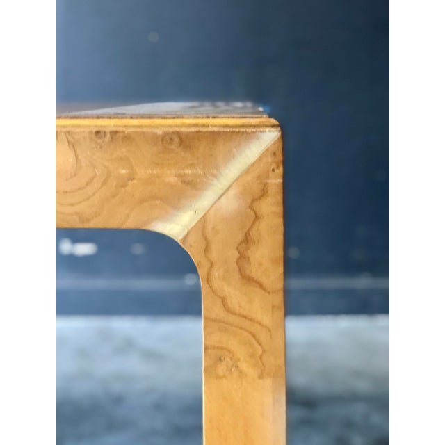 1970s Milo Baughman Parsons Dining Table For Sale - Image 5 of 9