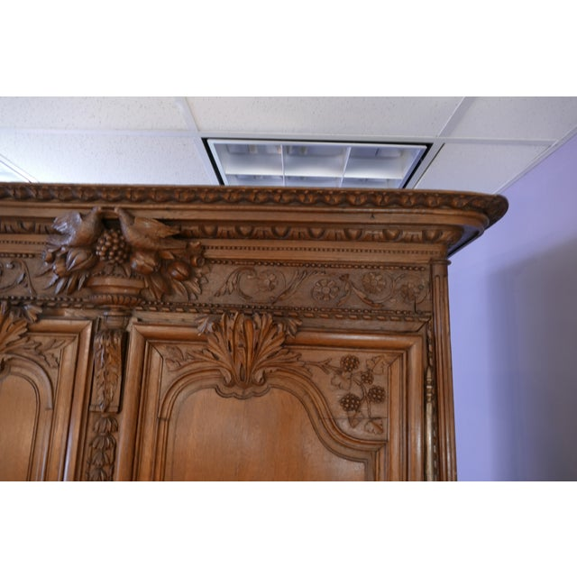 French Wedding Armoire - Image 4 of 7