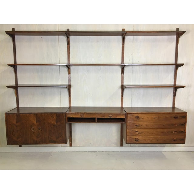 HG Danish Rosewood Wall Mounted Unit by Rud Thygesen and Johnny Sorenson For Sale - Image 13 of 13