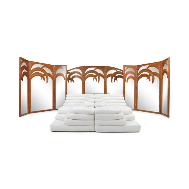 Brown Vivai Del Sud Tropicalist Screen & Room Divider For Sale - Image 8 of 9