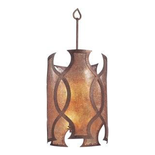 Troy Mandarin Copper Pendant Light For Sale