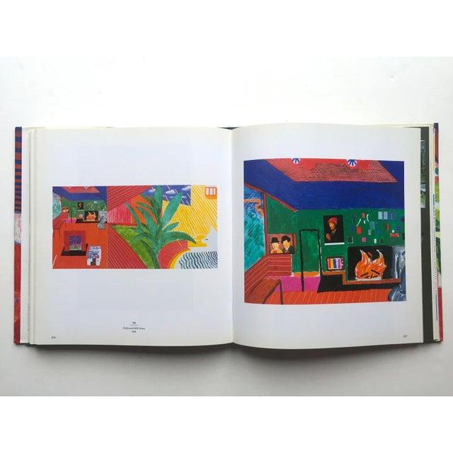 "Boho Chic "" David Hockney a Retrospective "" 1st Edtn Vintage 1988 Collector's Hardcover Art Exhibition Book For Sale - Image 3 of 12"