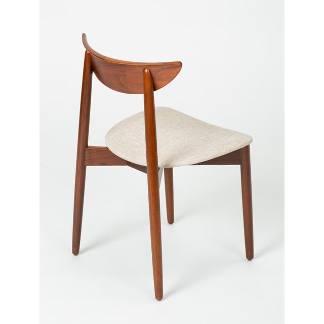 Set of Four Dining Chairs by Harry Østergaard for Randers Møbelfabrik For Sale - Image 10 of 13