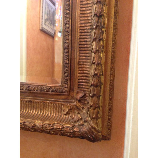 Neoclassical Gilt Composition Mirror For Sale - Image 4 of 5