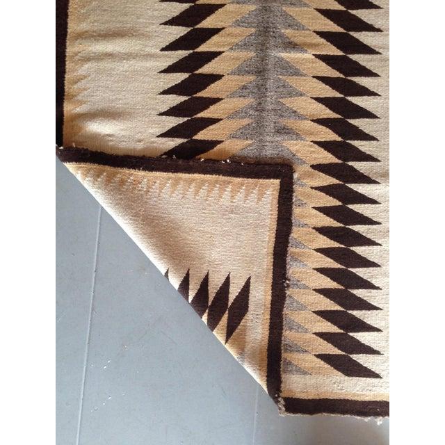 """Vintage Navajo Rug - 3'1"""" x 5'2"""" - Image 3 of 6"""