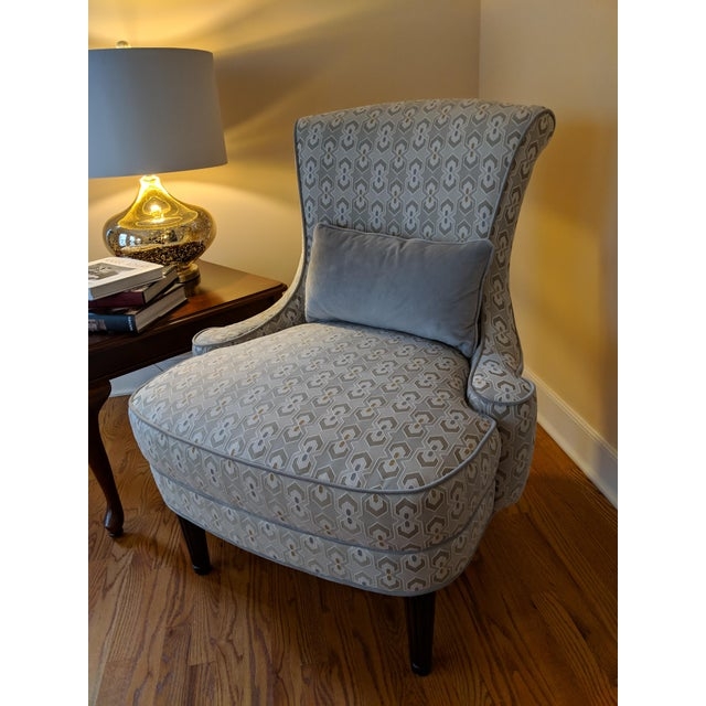 This is a set of matching accent chairs by Thomasville Furniture. We purchased these in August 2015 and they have been in...