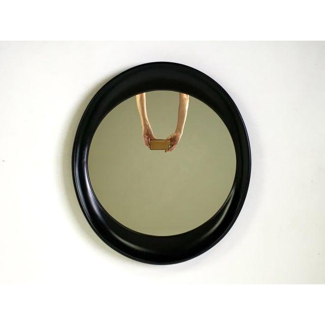Modern Oval Framed Mirror - Image 2 of 7