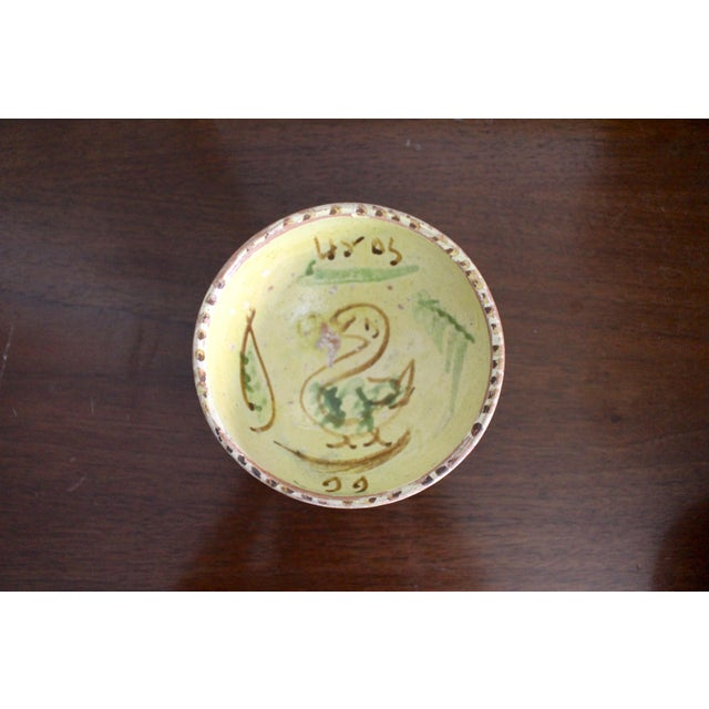 Mexican Art Tlaquepaque Clay Hand Painted Pottery Bowls - Set of 3 For Sale In Los Angeles - Image 6 of 12