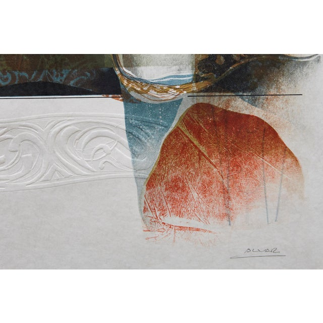 Paper Alvar Sunol Munoz-Ramos, Untitled, Signed and Numbered, # 63/80, 1981 For Sale - Image 7 of 11