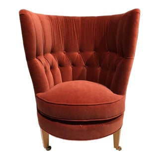 Charlotte Moss Biloxi Slipper Tub Chair for Century Furniture For Sale