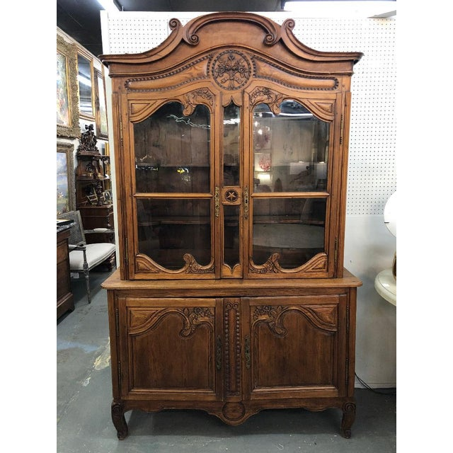 19th Century French Buffet Deux Corps For Sale - Image 9 of 9