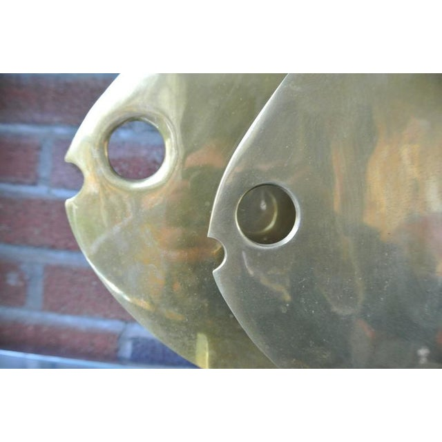 Abstract Brass Fish Sculpture by Hattakitkosol Somchai For Sale In New York - Image 6 of 6